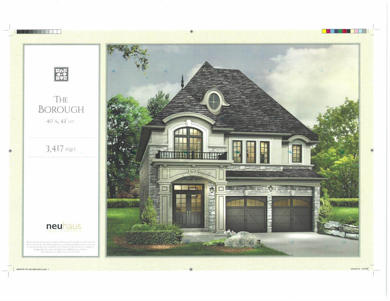Residencial à venda em BRAND NEW Custom Home in Richmond Hill (3,417 sq.ft), RICHMOND HILL, Ontario ,L4C 4M3  , Canadá