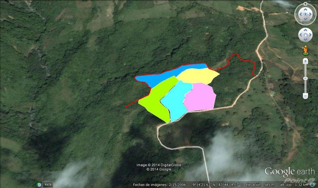 Residencial à venda em 3 Acre Land Parcels In The Mountains With Waterfall And Ocean Views, Uvita, Puntarenas   , Costa Rica