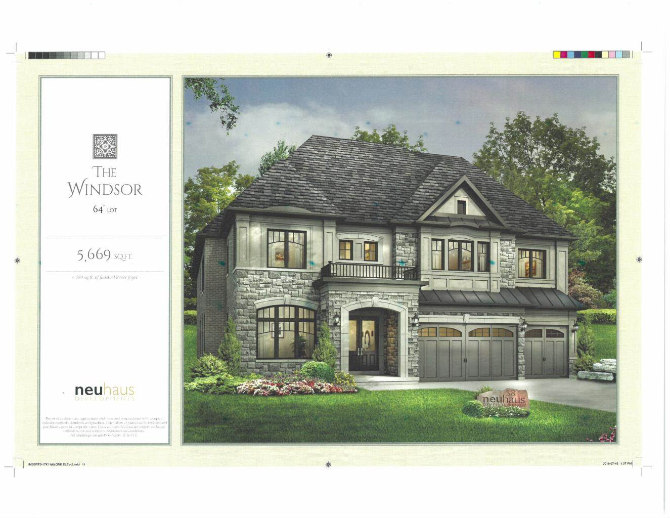 Residencial à venda em BRAND NEW Custom Home in Richmond Hill (5,669 Sq.ft), RICHMOND HILL, Ontario ,L4E 2V8  , Canadá