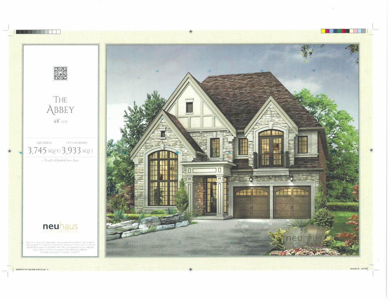 Residencial à venda em BRAND NEW Custom Home in Richmond Hill (3,745 sq.ft.), RICHMOND HILL, Ontario ,L4C 4M3  , Canadá