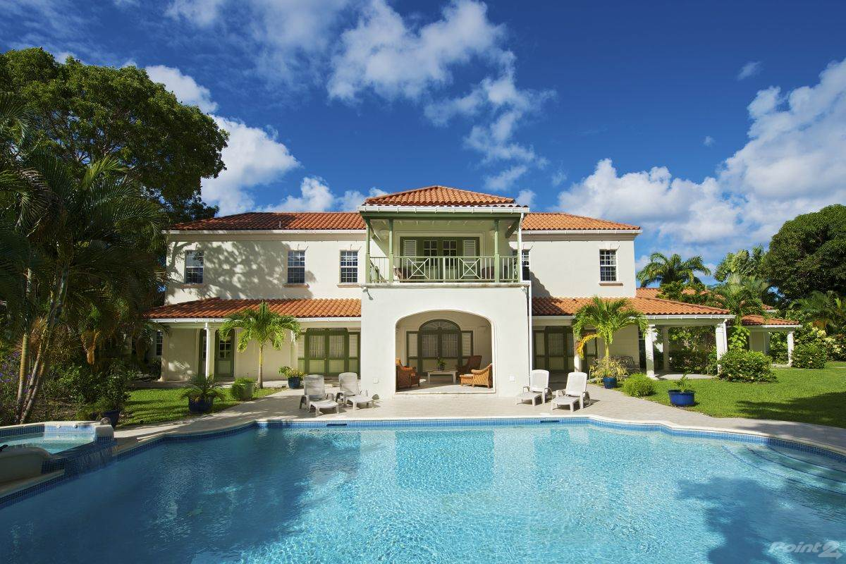 Residencial para alugar em 5 Bedroom, 6 ½ Bathroom Villa in Sandy Lane – Magnolia, , St. James   , Barbados